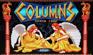 COLUMNS © SEGA 1990