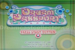 Dream Passport 3 title screen