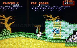 Daimakaimura (Ghouls 'n Ghosts) © Capcom 1988 Reprogrammed Game © SEGA 1989