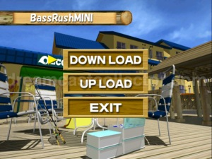 Bass Rush Dream ~Eco Gear PowerWorm Championship ©2000 Visco Corporation The BassRuchMINI downloadable VMU game screen. You were also able to upload your data to compete in VISCO's tournaments. ©2018 image by dreamcastcollector