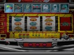 Pressing start brings up various options from options relating to gameplay like how fast the reels spin to simpler functions like saving and controller options. © 2000 MAXBET © DAIKOKU DENKI CO., LTD., 2000 © YAMASA © 2000 Sammy