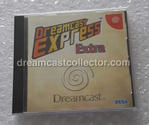 Dreamcast Express Extra which has a playable trial of Cool Boarders Burrrn! © 1999 SEGA image © 2018 dreamcastcollector