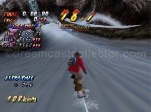 It seems that DJ was the character of choice for the time trial competition ©1999 UEP SYSTEMS,Inc
