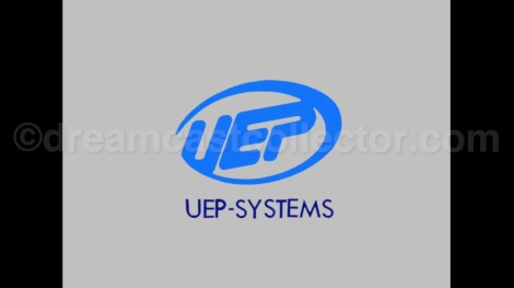 UEP Systems in-game logo in Cool Boarders Burrrn! ©1999 UEP System