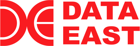 DATA EAST LOGO. The last incarnation of the company's logo as used on REVIVE… 〜Resuscitation〜. © DATA EAST CORPORATION.