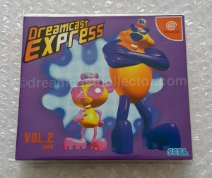 Dreamcast Express Vol.2 with the Cool Boarders Burrrn! video trial. ©1999 SEGA. Image ©2018 dreamcastcollector