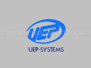 UEP-Systems in game logo in Cool Boarders Burrrn! ©1999 UEP-Systems, Inc