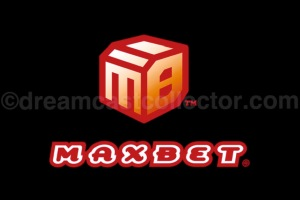MAXBET's logo as featured in their title JISSEN PACHISLO HISSYOUHOU @ VPACHI ©2000 MAXBET