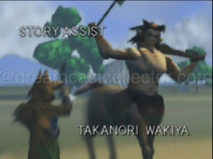 The characters found in the games introduction cinematic not only are very angular but only feature incredibly limited animation. The overall resolution being so low might even work to the games benefit as if it had been rendered in a higher resolution it arguably would've looked even worse. ©2000 NOISIA ALL RIGHT RESERVED.